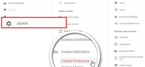 Custom Dimensions in Google Analytics