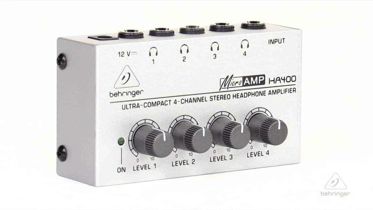 Headphone Amplifiers for Multiple Host Podcasters