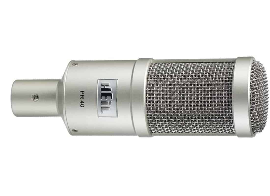 Heil Sound PR40 Microphone for Podcasting