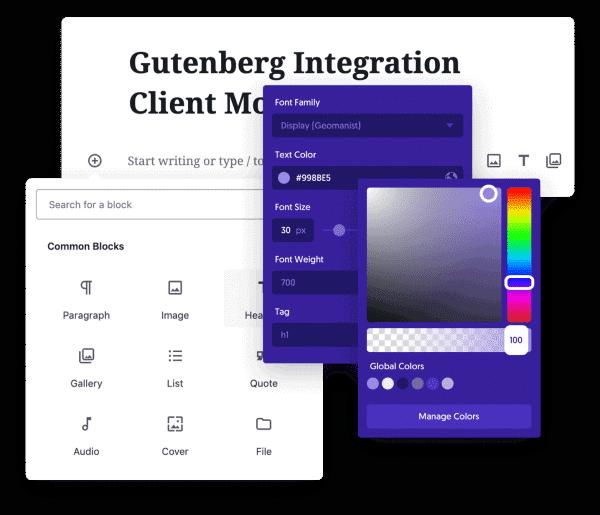 Oxygen Is Compatible With Gutenberg Block Builder