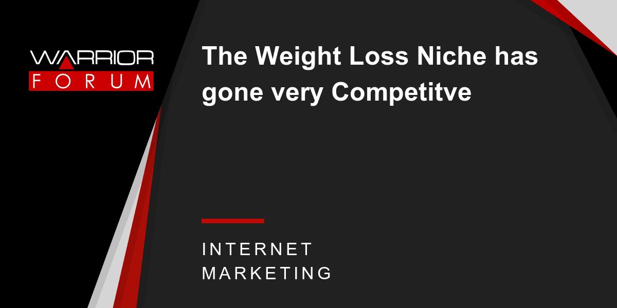 Weight Loss Niches Best Niches 2020