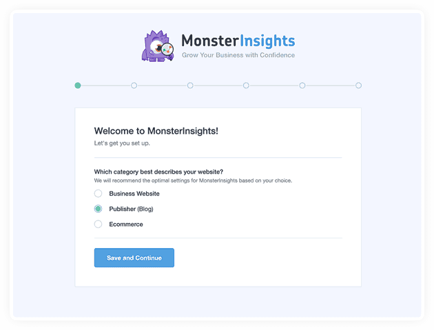 How To Setup MonsterInsights