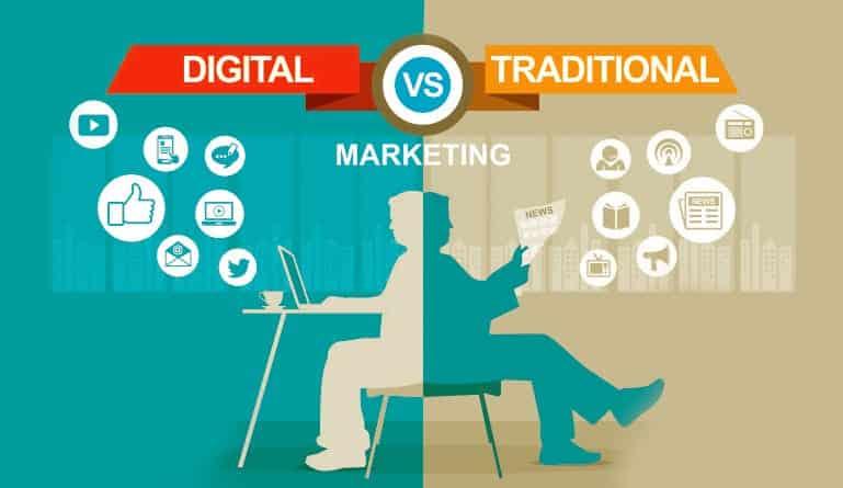 Digital Vs Traditional Media Marketing