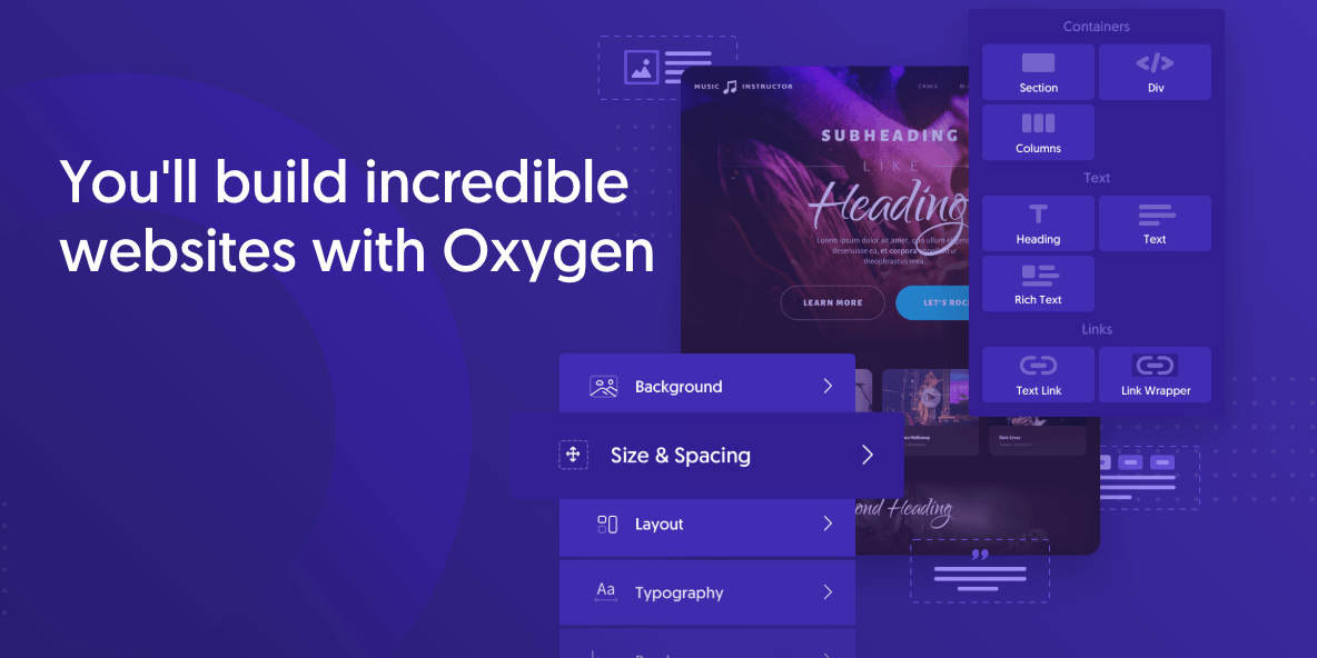 How To Use Oxygen With Other WordPress Builders?
