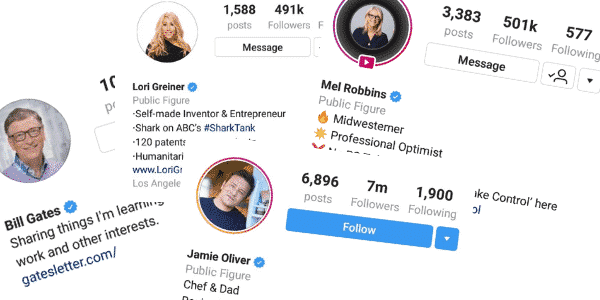 Instagram Verified Accounts