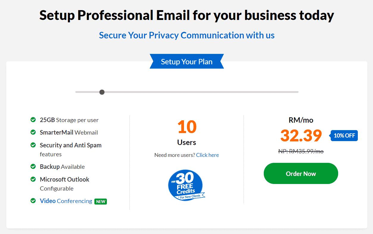 Email Hosting Creation Using Exabytes